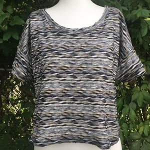 Free People Wave Style Patterned Top Size s/p